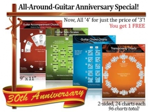 guitar anniversary special at Music Dials