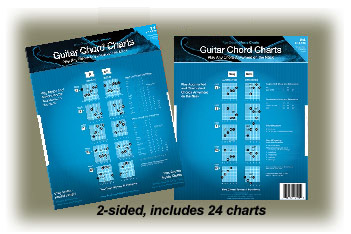 Guitar Music Charts | Ron Greene Music Dial Charts