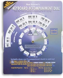 keyboard and piano accompaniment music chart